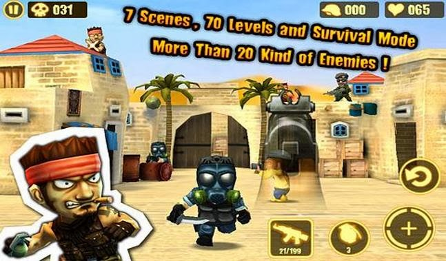 Gun Strike XperiaPlay android game apk - Screenshoot