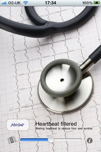 iStethoscope Pro iPhone app can monitor heartbeat
