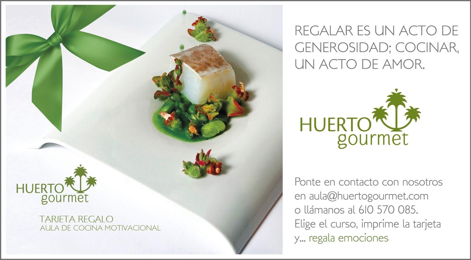 Blog huerto gourmet regala un curso de cocina motivacional for Cursos de cocina en alicante