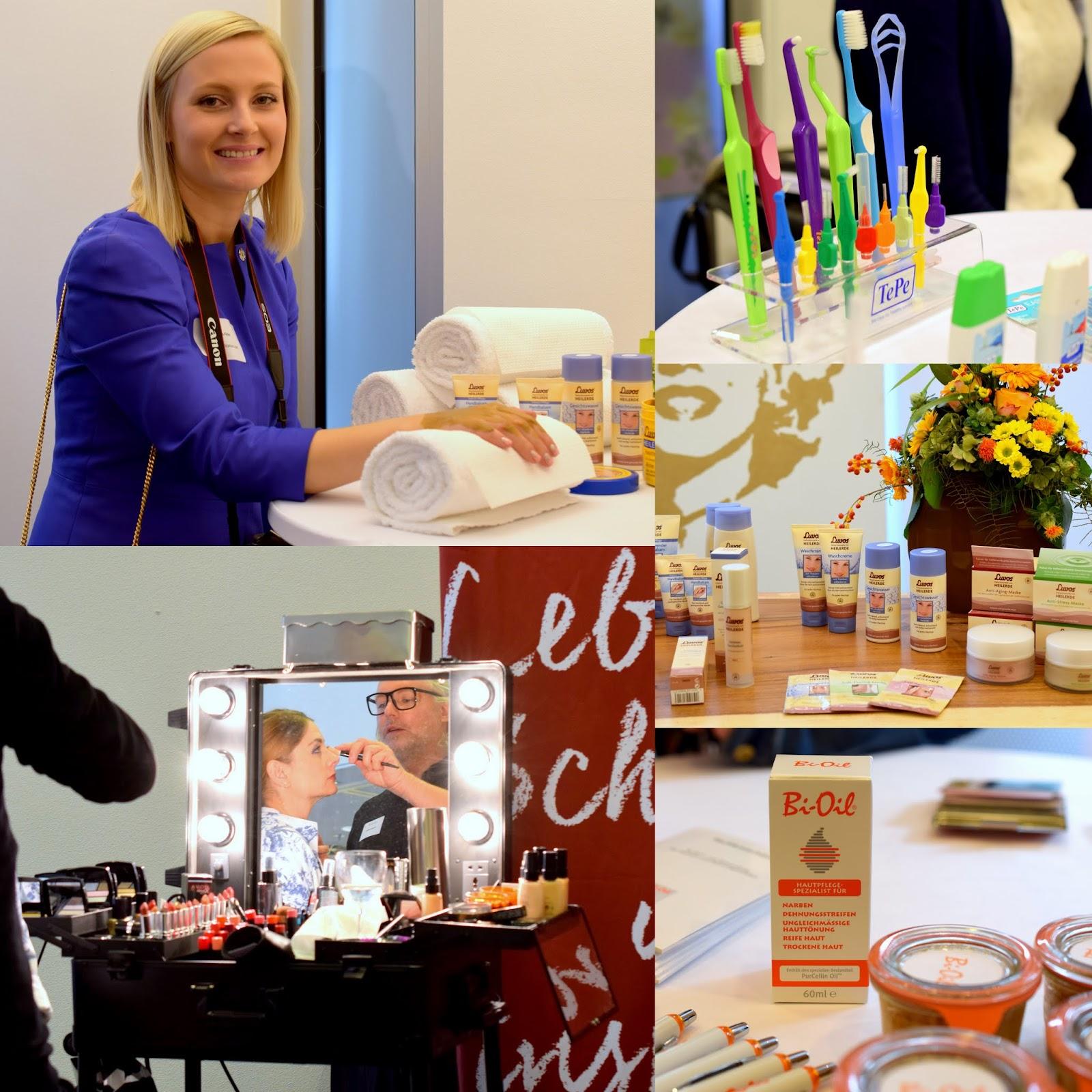 Beautypress Oktober 2015 Frankfurt Luvos Avon und Bi Oil