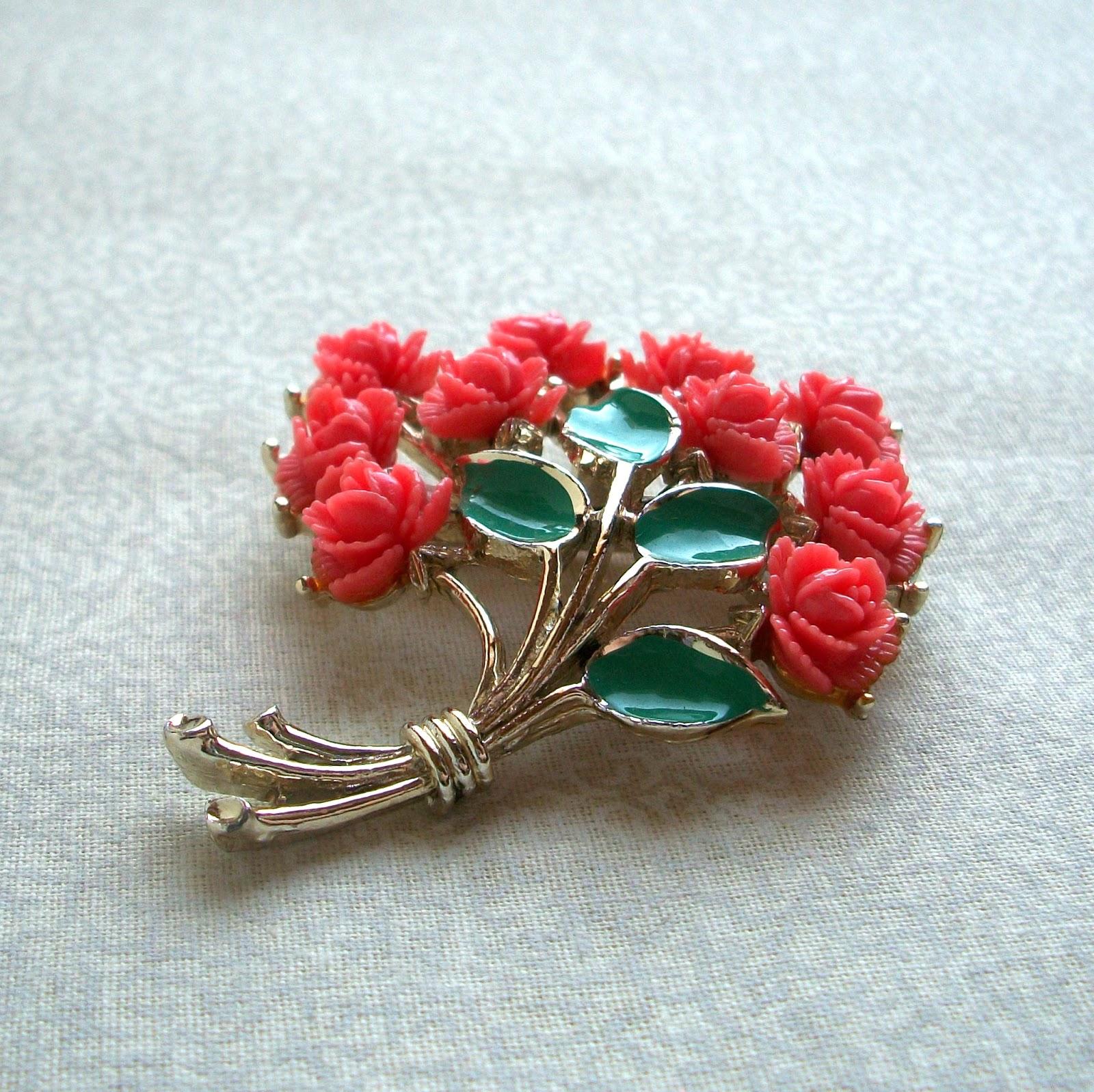 Rose Bouquet Brooch.