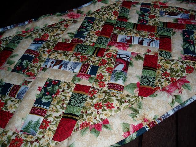 El costurero de teresa camino de mesa de patchwork - Camino mesa patchwork ...