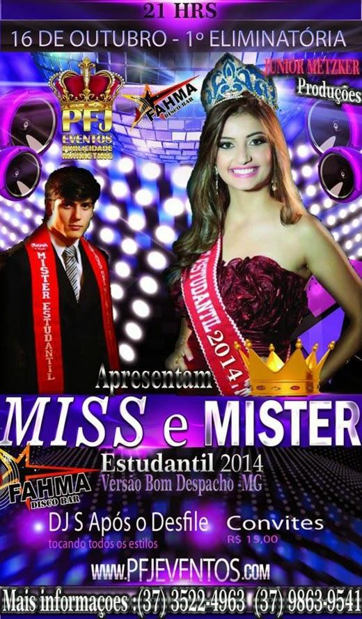 Miss e Mister Versão Bom despacho 2014