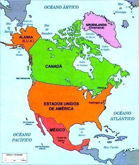 america del norte ile ilgili görsel sonucu america del norte