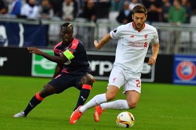 Hasil UEL 18 Sept 2015 Pekan Pertama: Napoli 5-0 Club Bruges, Bordeaux 1-1 Liverpool