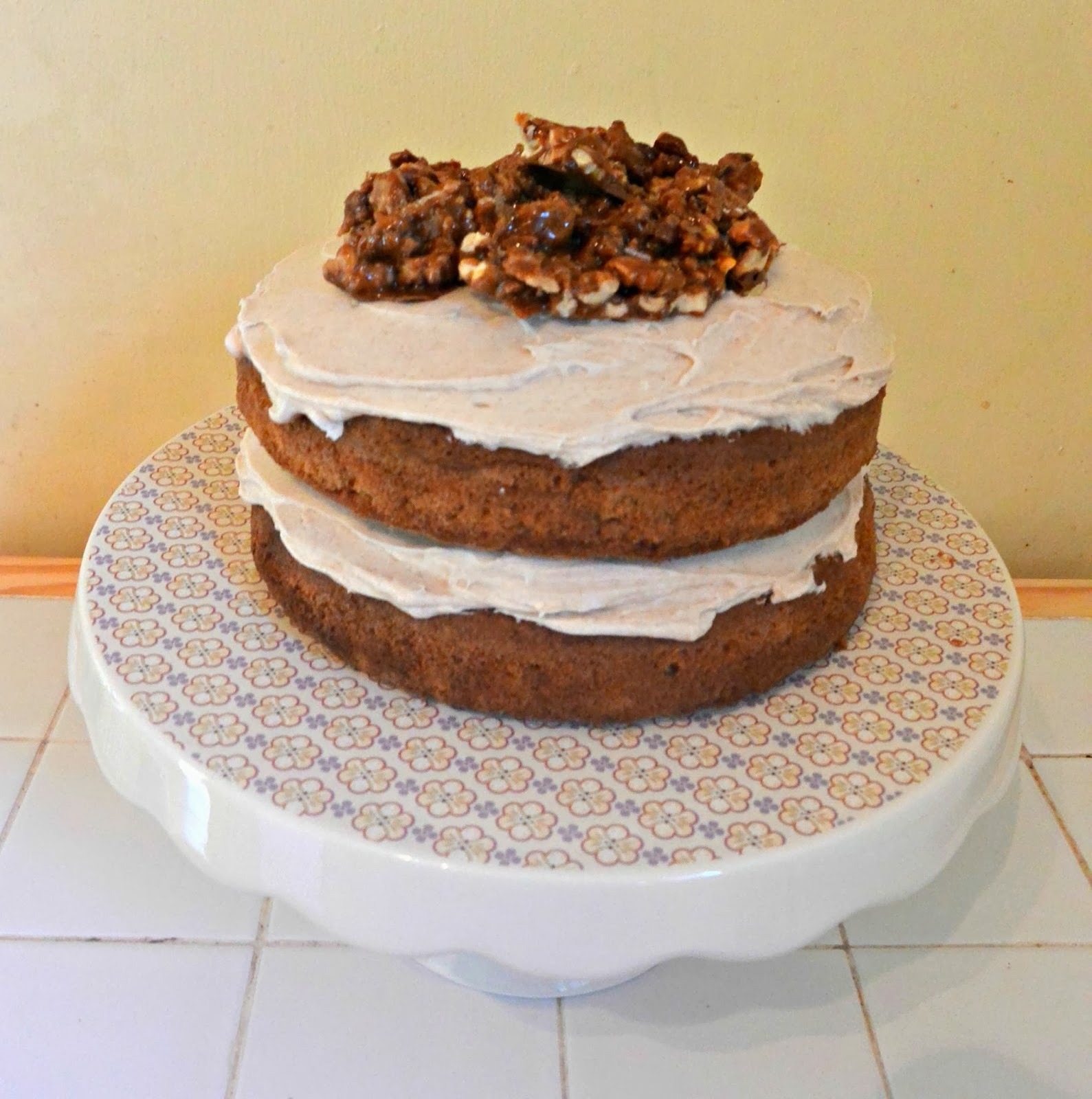 Jennifer Bakes: Carrot Cake with Cinnamon Cream Cheese ...