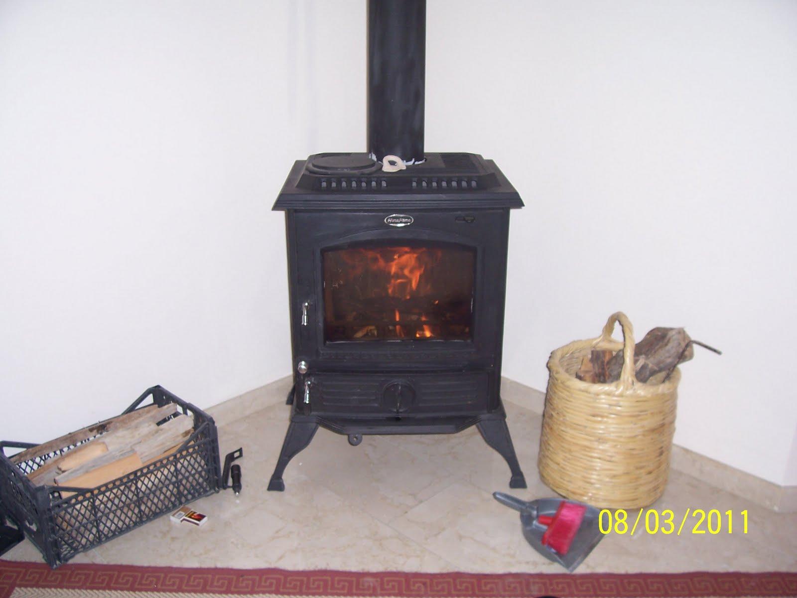 The Cyprus Garden Blog: Wood Burning Stove