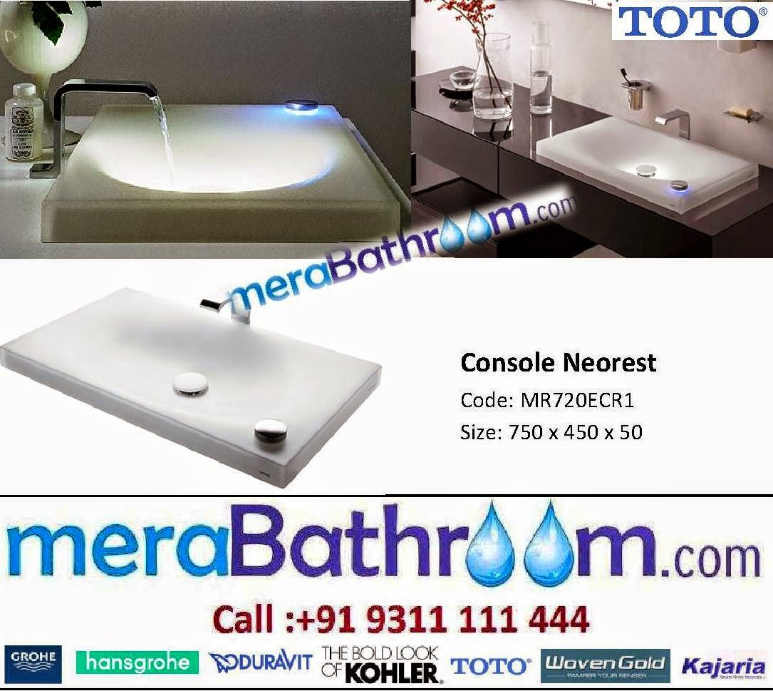 Make My Bath: Toto Neorest Wash Basin- MR720ECR1