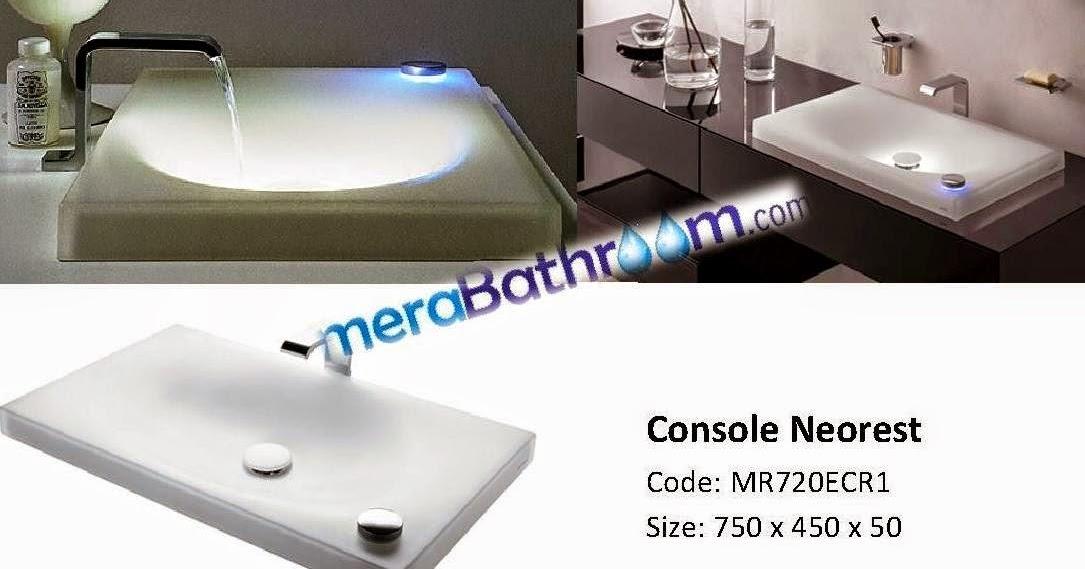 Make My Bath: Toto Neorest Wash Basin- MR720ECR1