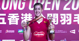 BÁDMINTON - Carolina Marín suma y sigue y Chong Wei prolonga a 3 Superseries de Hong Kong consecutivos