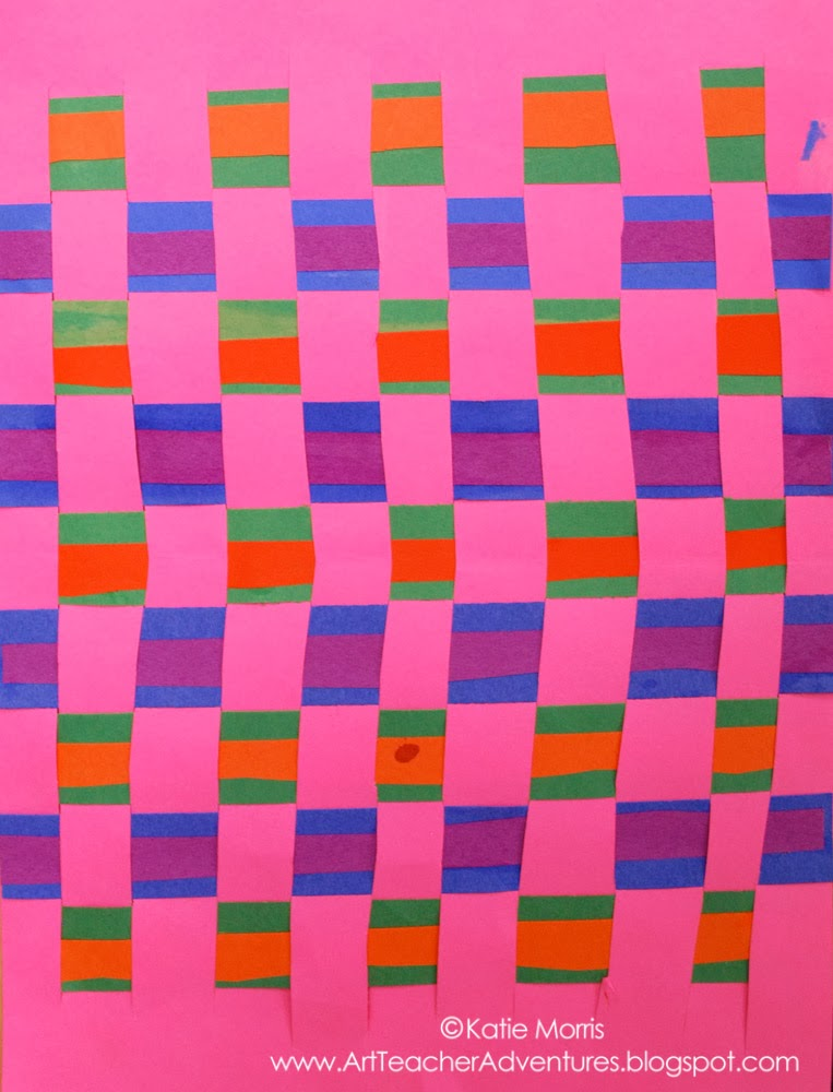 construction paper checkerboard