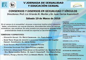 """""""V Jornada de Sexualidad y Educación Sexual 2015"""""""