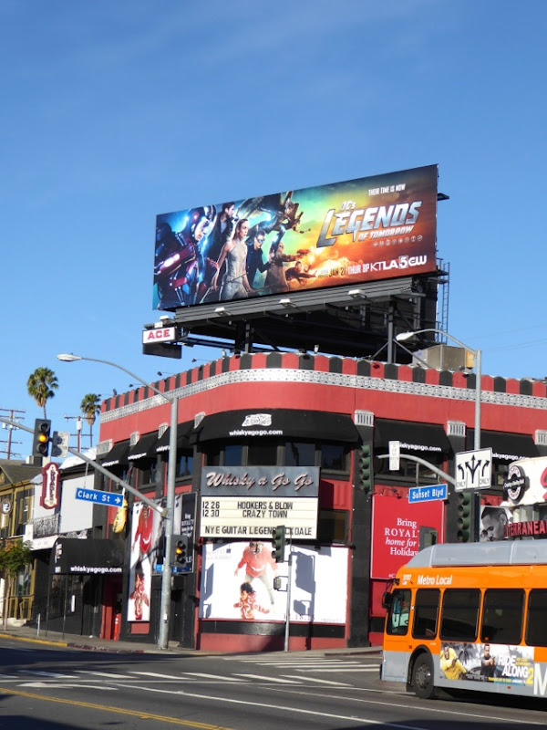 DC Legends of Tomorrow TV billboard