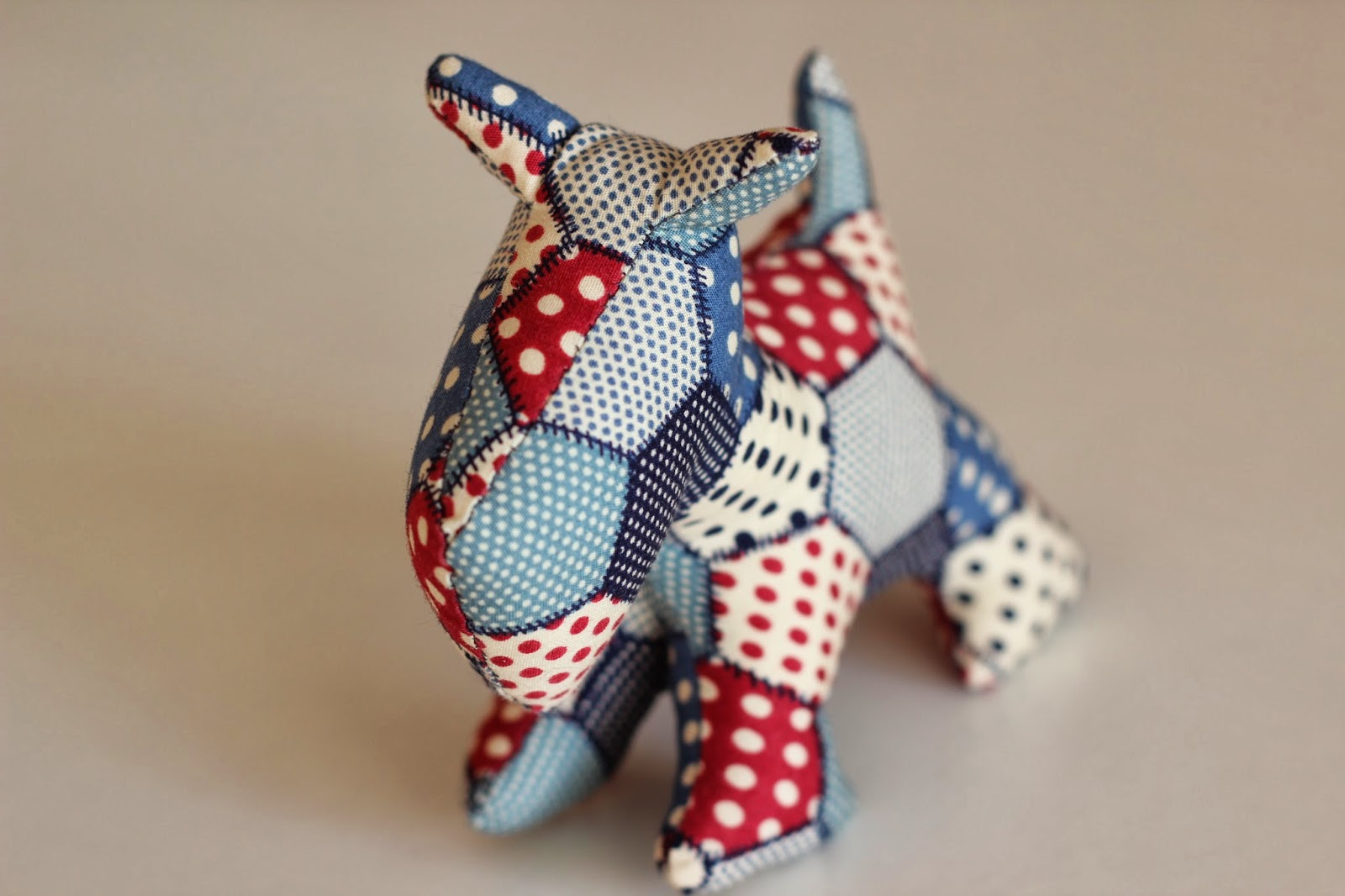 Mi hogar de patchwork marzo 2014 - Cabezas animales tela ...