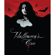 27. Free vector of Halloween Girl Vampire illustration