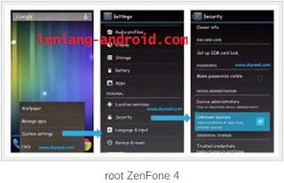 root ZenFone 4