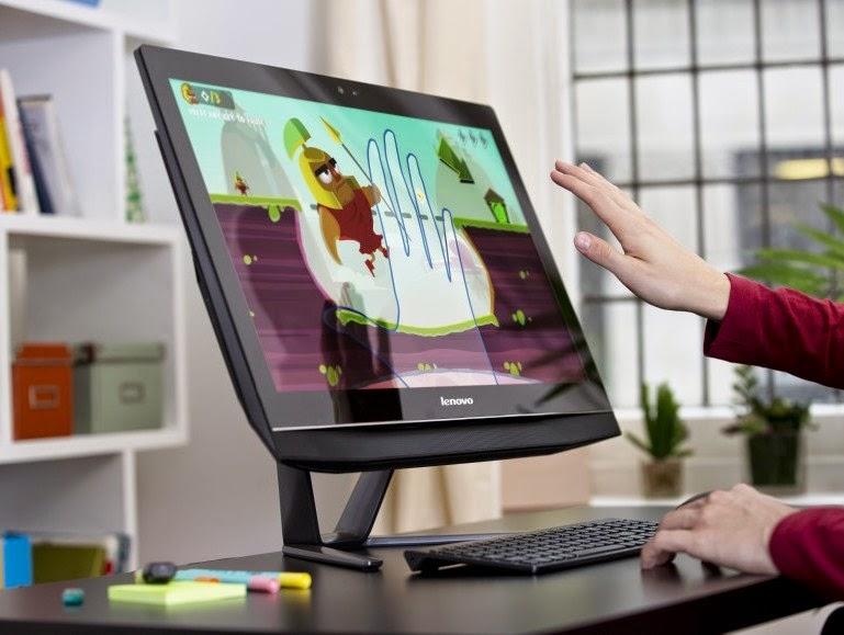 Управление моноблоком Lenovo B50-30 с помощью кисти руки