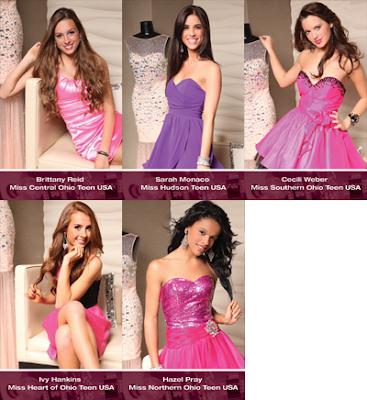 Top 5 : Miss Ohio Teen USA 2013
