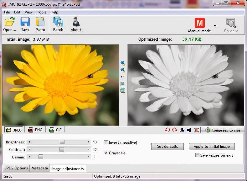 Ajustes de imagen, brillo, gamma y contraste