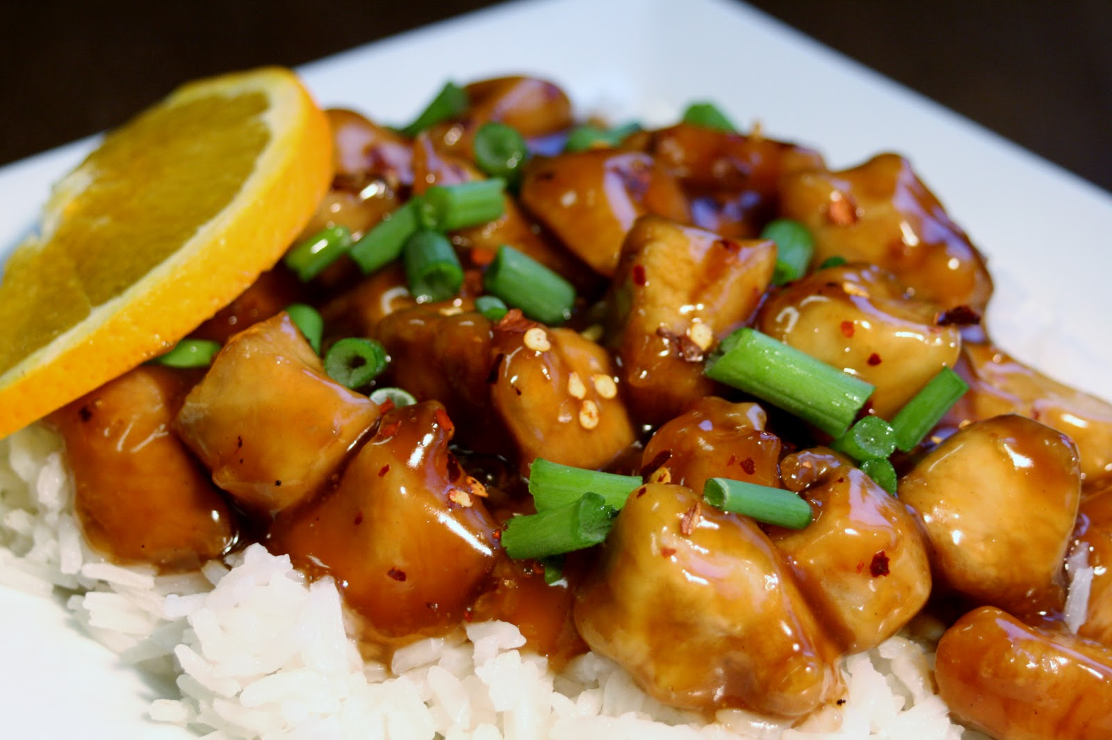 Kitchen Comments: Chinese Orange Chicken