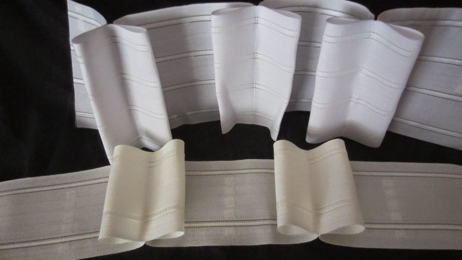 Novedades paola cortinas visillo con tablas y botones - Como coser unas cortinas ...