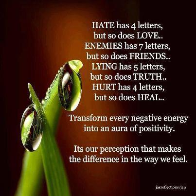 Hate Has 4 Letter But So Does Love