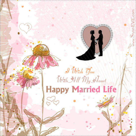 Happy Wedding Greeting Cards
