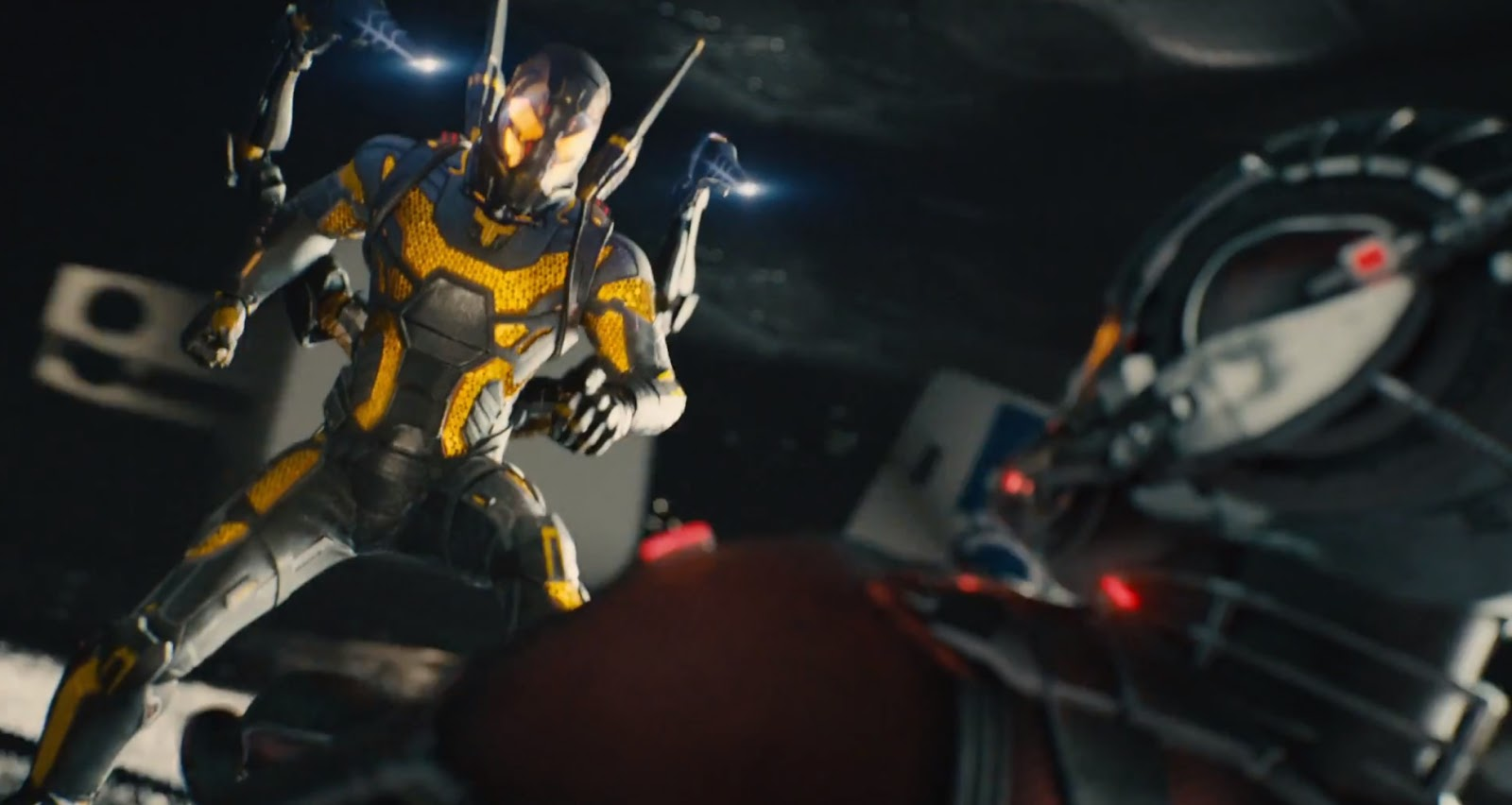 Ant Man Yellowjacket See What And Wasp Almost Looked Like