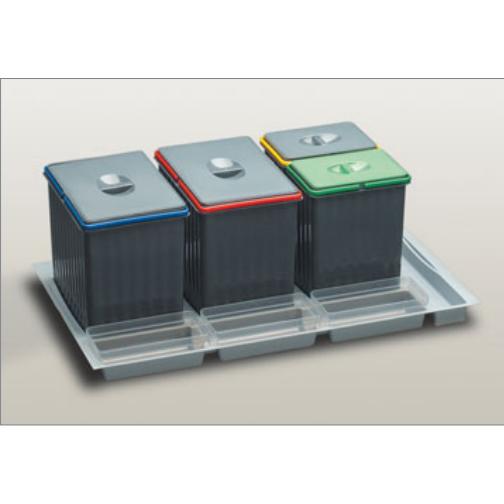 Cubo ecologico basura cajon 90 tu cocina y ba o cubos - Cubos basura cocina ...