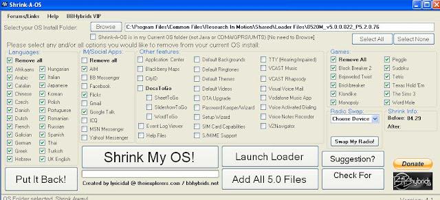 Cara Termudah Install OS Blackberry