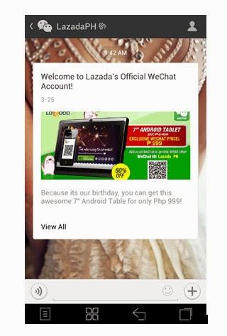 Haipad Android Tablet, Lazada, WeChat