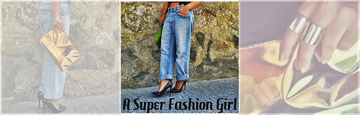 A Super Fashion Girl