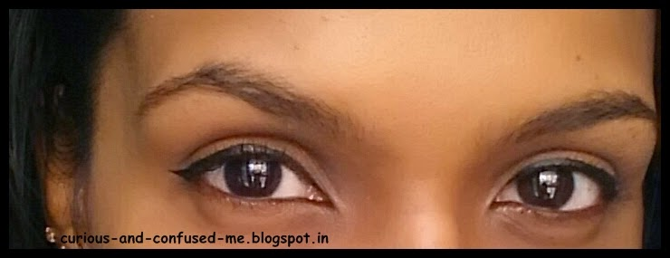 Maybelline The Colossal Liner in Black review, Maybelline The Colossal Liner in Black swatch, The Colossal Liner in Black review, Best Pen liner India, Pen eyeliners in India, Eyeliners in India