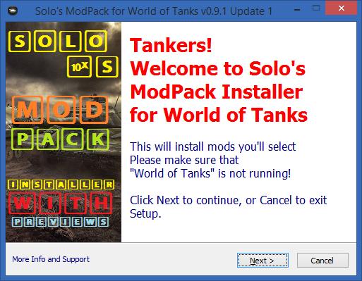 world of tanks mods pc