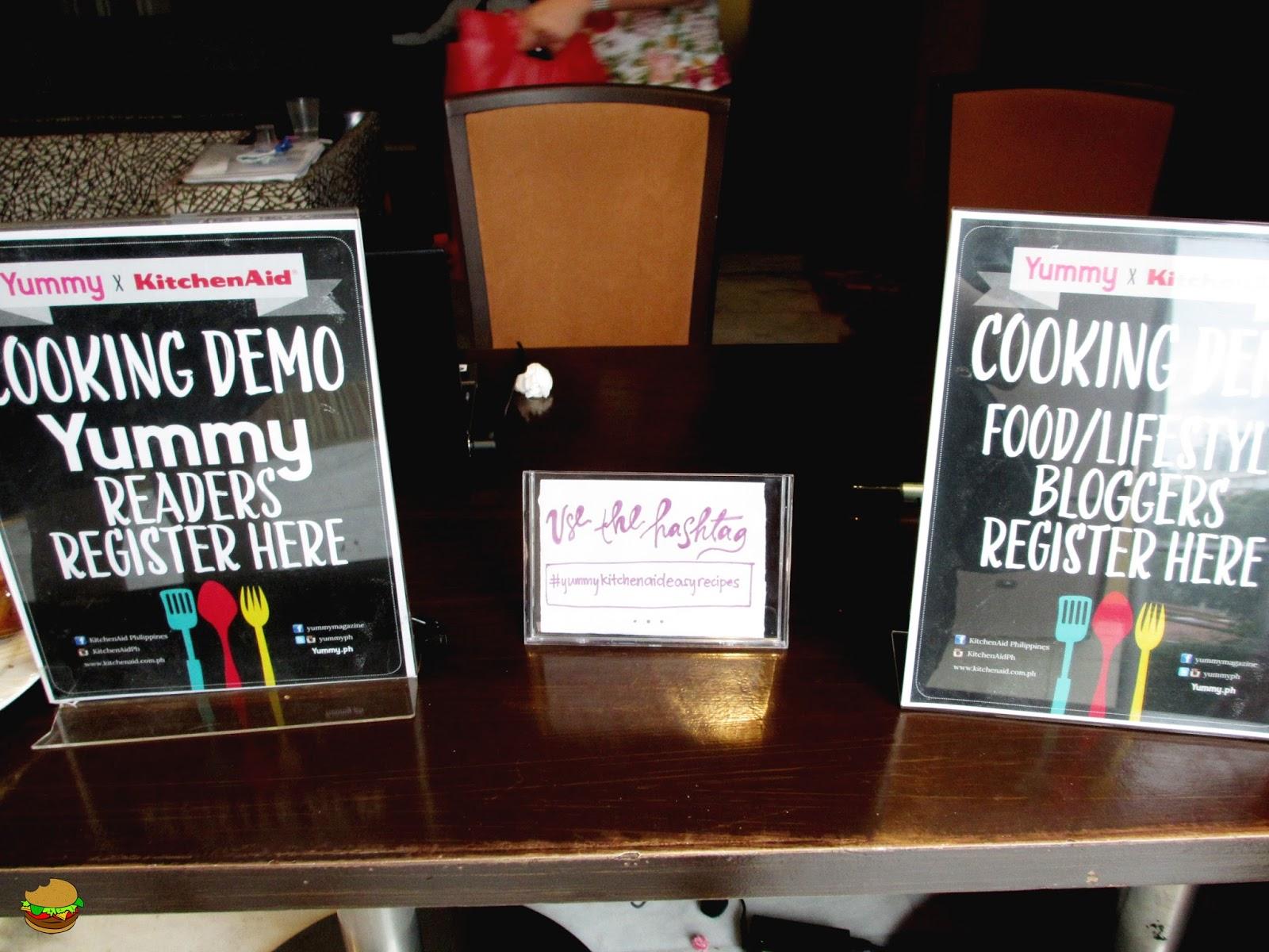 Hungry Buddy: Yummy x KitchenAid Cooking Demo