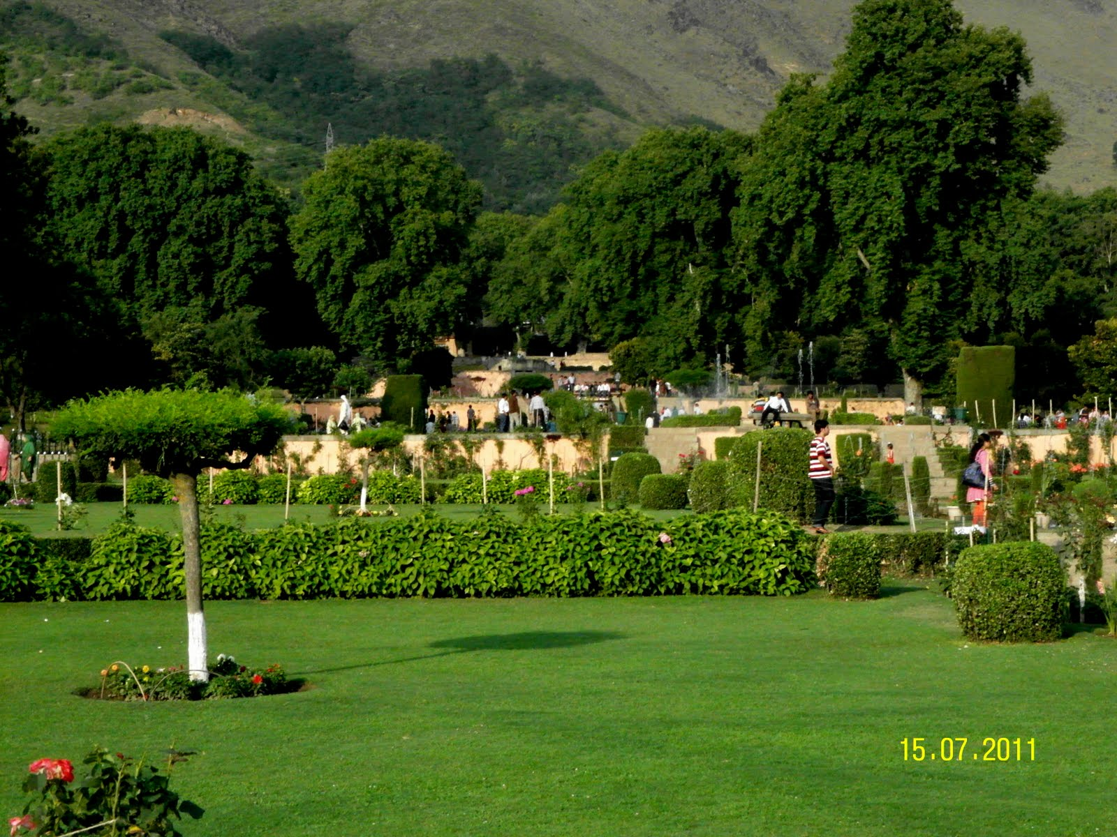 mughal gardens in kashmir Kashmir - an introduction  srinagar has many well laid out mughal styled gardens such as chashme shahi or the royal spring,  the mughal gardens in kashmir.