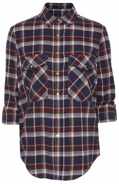 Primark online: camisa para mujer a cuadros