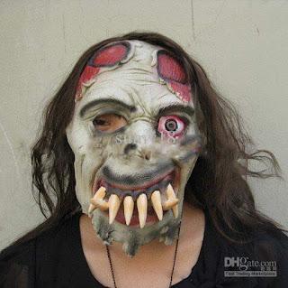 topeng hantu zombie
