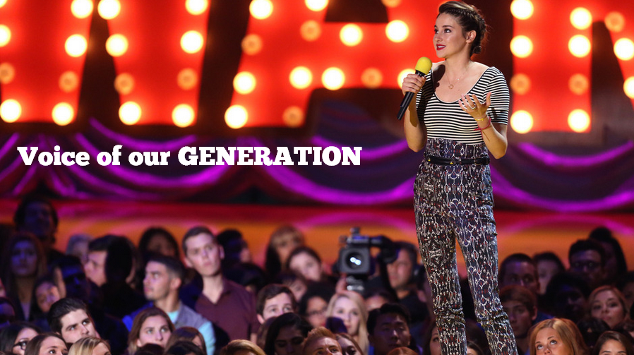 VOICE OF OUR GENERATION - SHAILENE WOODLEY