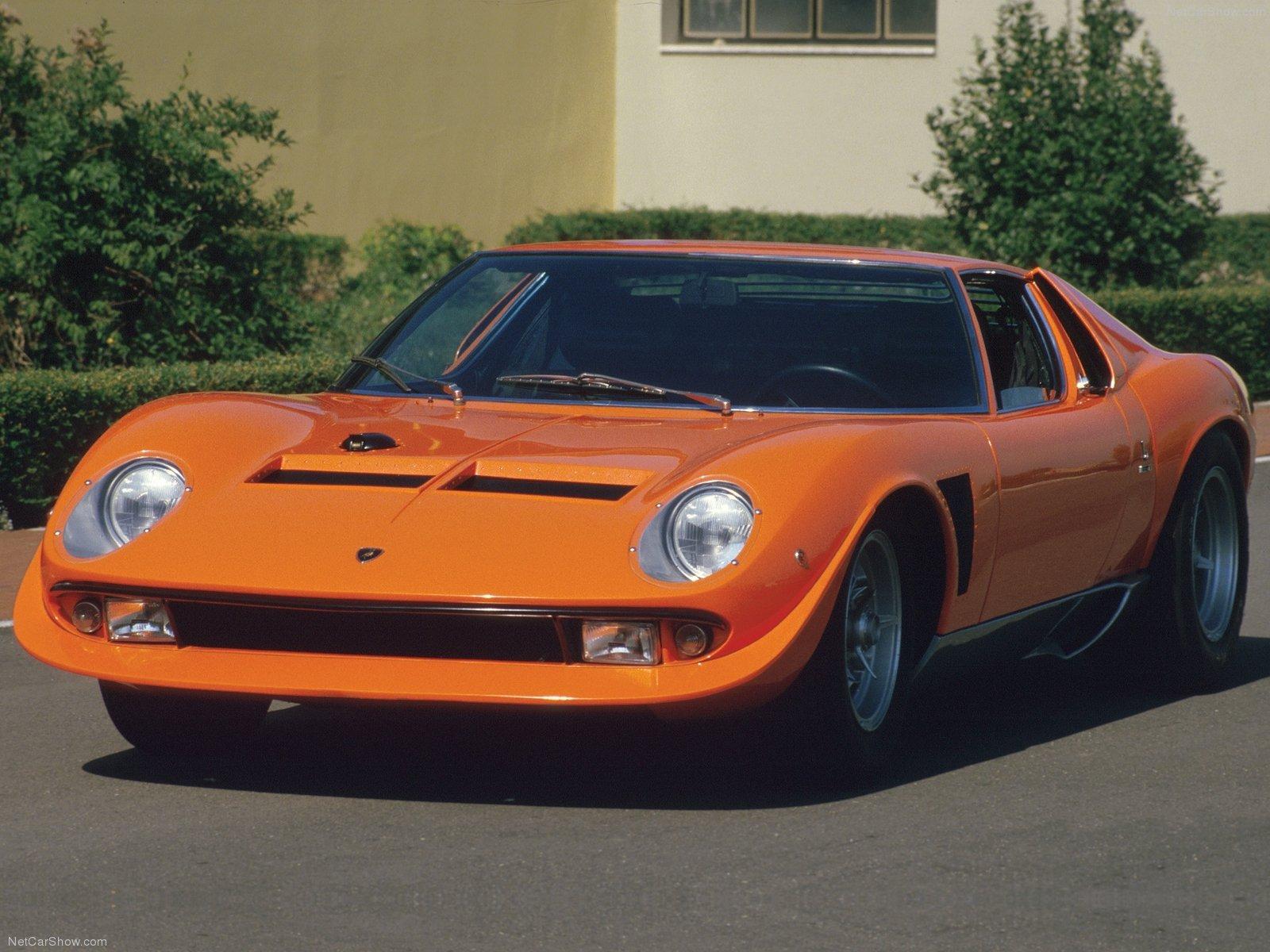Hình ảnh siêu xe Lamborghini Miura Jota 1970 & nội ngoại thất