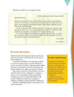 Apoyo Primaria Español 6to Grado Bloque IV Lección 12 Escribir cartas personales a familiares o amigos