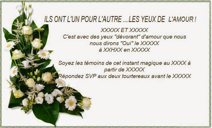 Texte invitation anniversaire de mariage original