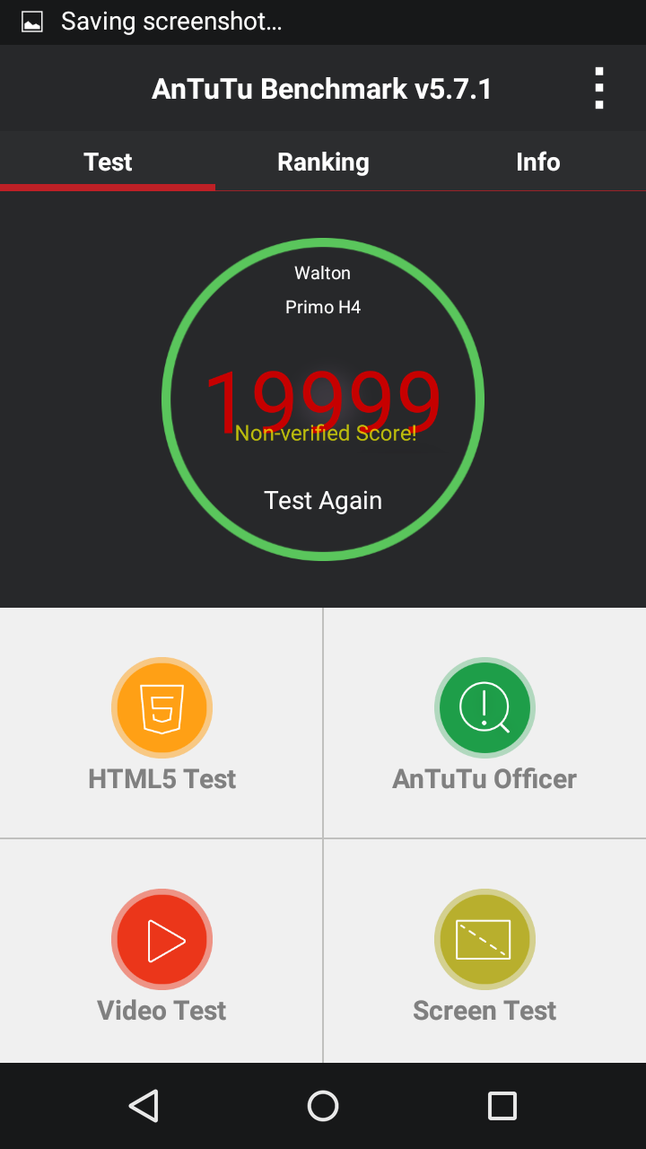 Primo H4 review Antutu Benchmark Score