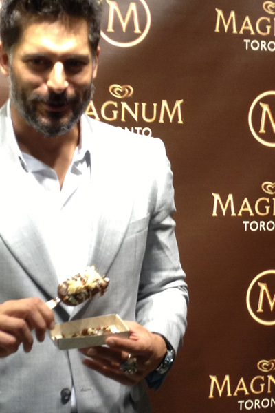 Joe Manganiello for Magnum Ice Cream in Toronto