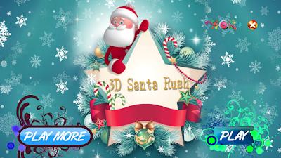 3D Santa Claus Rush Apk