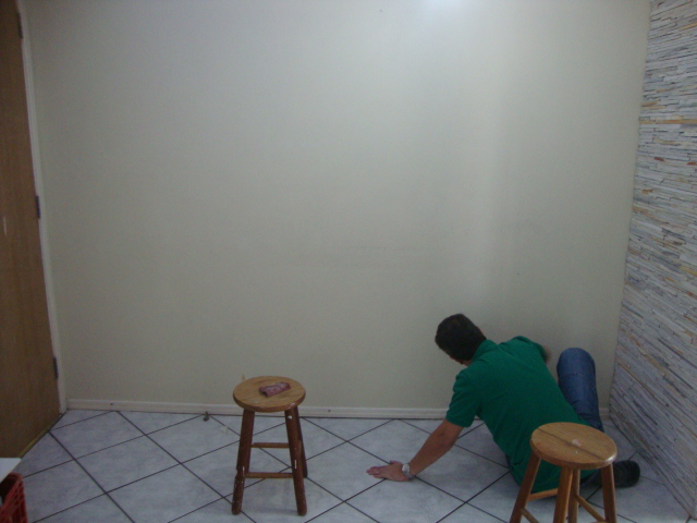 Pintura Da Sala Como Esse Comodo E A Porta De Entrada Para As Visitas