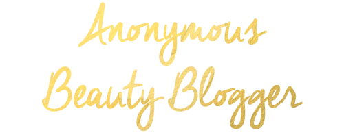 The Anonymous Beauty Blogger
