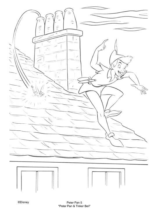 Desenhos Para Colorir Peter Pan