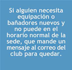 ¡¡ NUEVOS BAÑADORES DEL CLUB !!