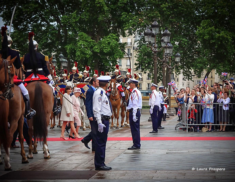 La Reine Elizabeth II et Anne Hidealgo 2014 © Laura Prospero